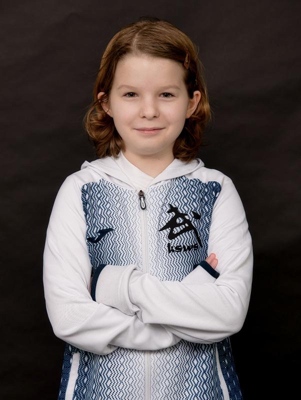 Antonina Bulka - zawodniczka Krakowskiej Szkole Wushu